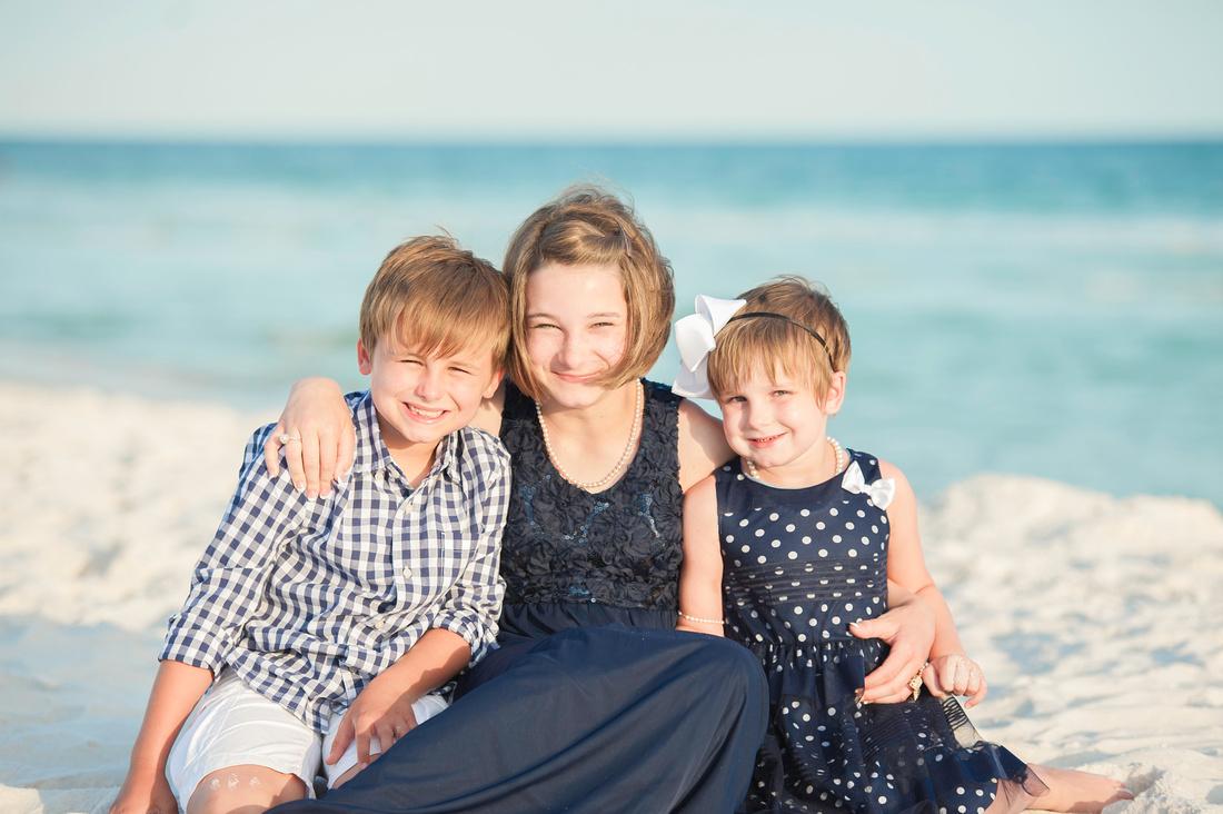 children beach photo