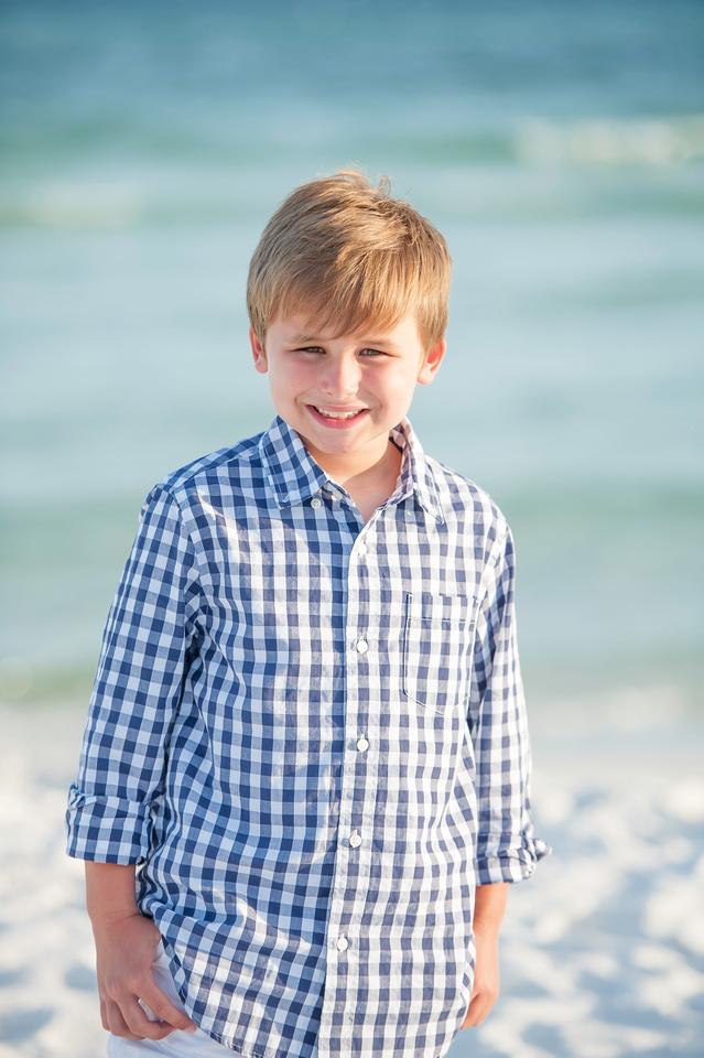 beach boy portrait